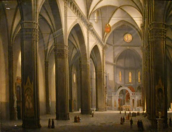 Santa Maria del Fiore (como probablemente la conocío Ximenes) | Wikimedia Commons