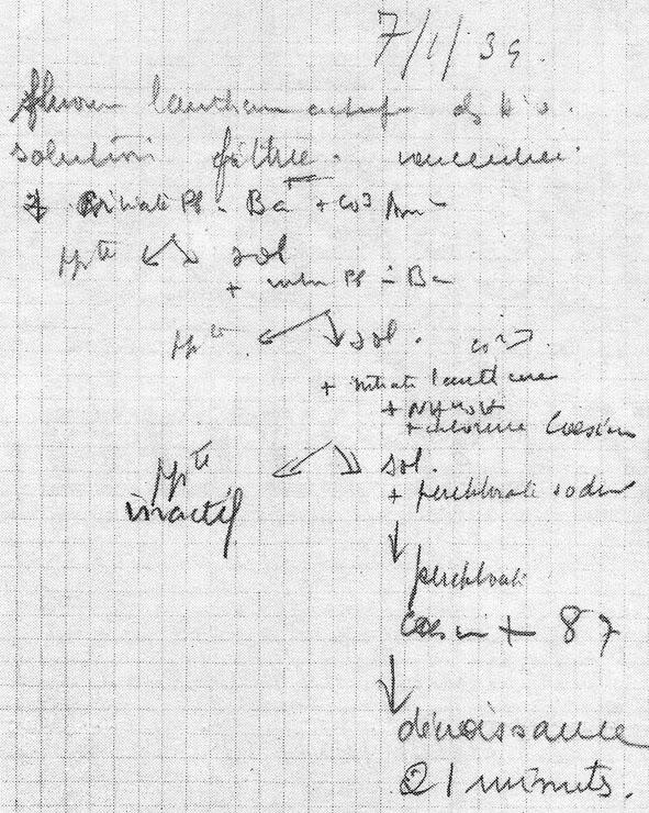 El Fr-223 en el cuaderno de Marguerite